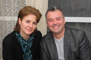 Daniel and Iuliana Stanger at El Roi in Iaşi