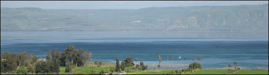 Israel - Sea of Galilee